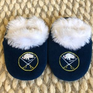 Buffalo Sabres baby slippers